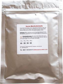 Sauna Menthol Kristalle 50 g Beutel