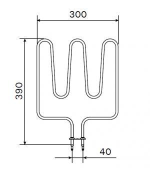 Heizstab Zsl 310 Harvia Saunaofen 1500 Watt