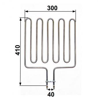 Heizstab passend für Zsk 720 - 3000 Watt Harvia - Sentiotec Saunaofen