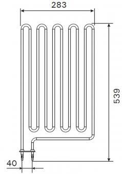 Heizstab ZCU-836 für Harvia Saunaofen