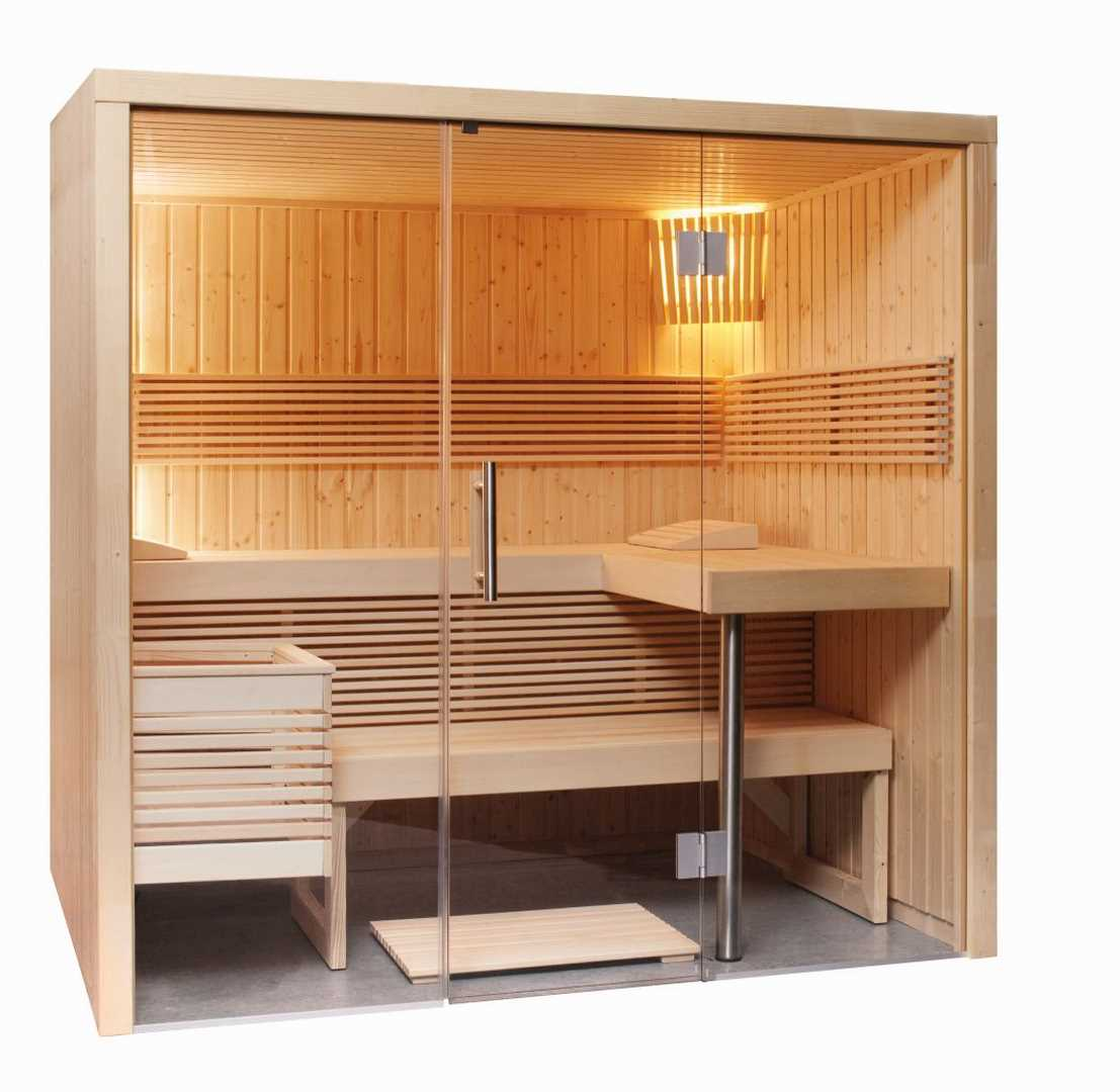 Elementsauna Pinetto Small 214 x 160 x 201 cm
