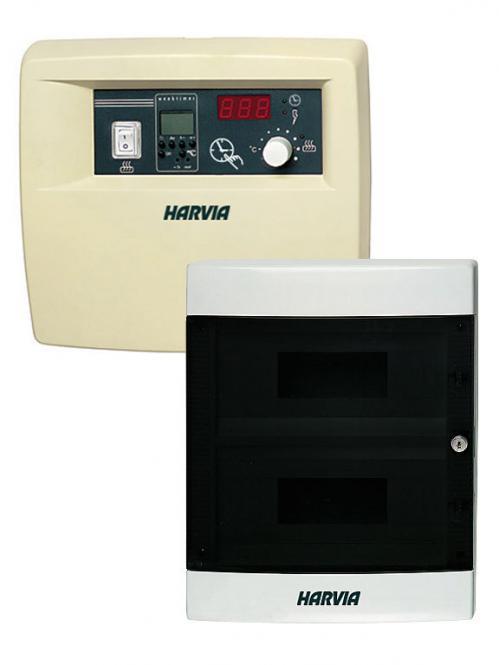 gewerbliche Saunasteuerung C 260 bis 22 kW
