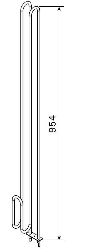 Heizstab für Harvia Saunaofen ZRH-249 / 3 000 Watt
