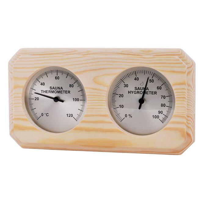 Sauna Hygrometer aus Nadelholz