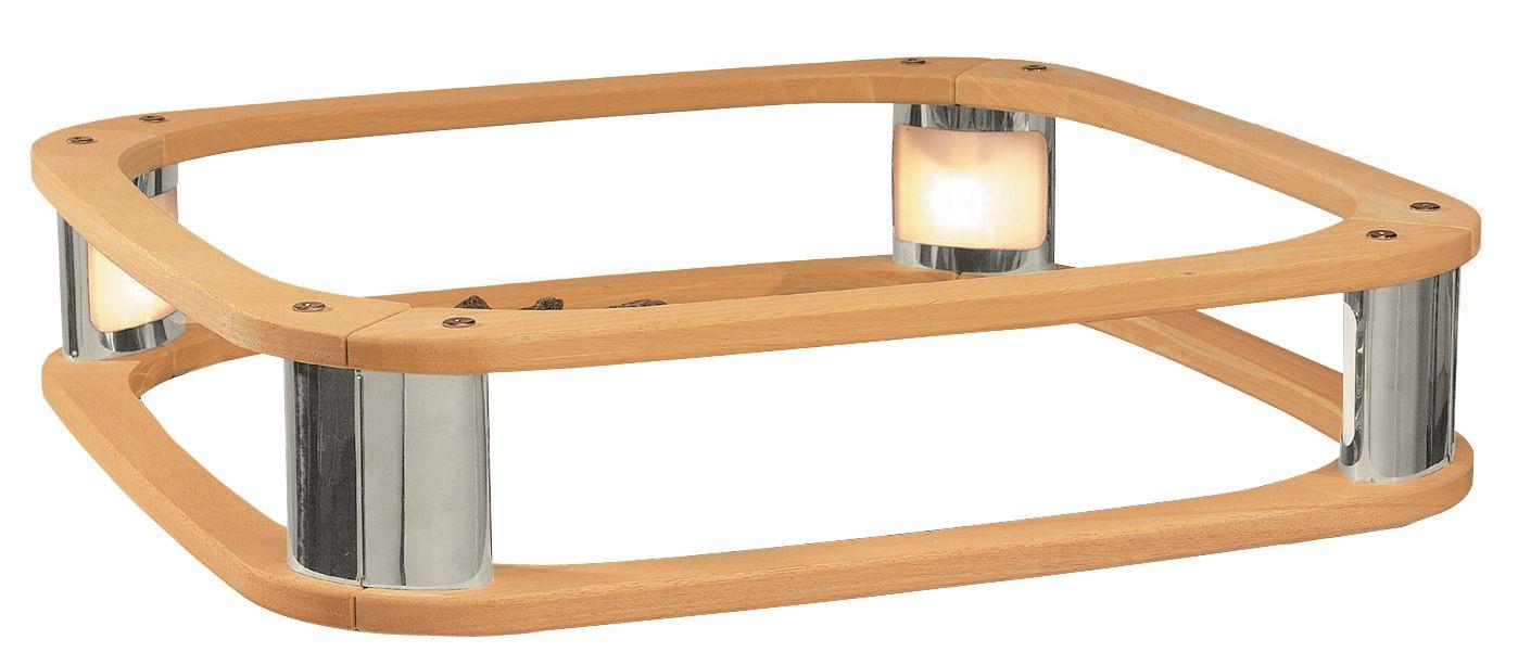 Ofenschutz mit Licht Harvia Elegance Saunaofen